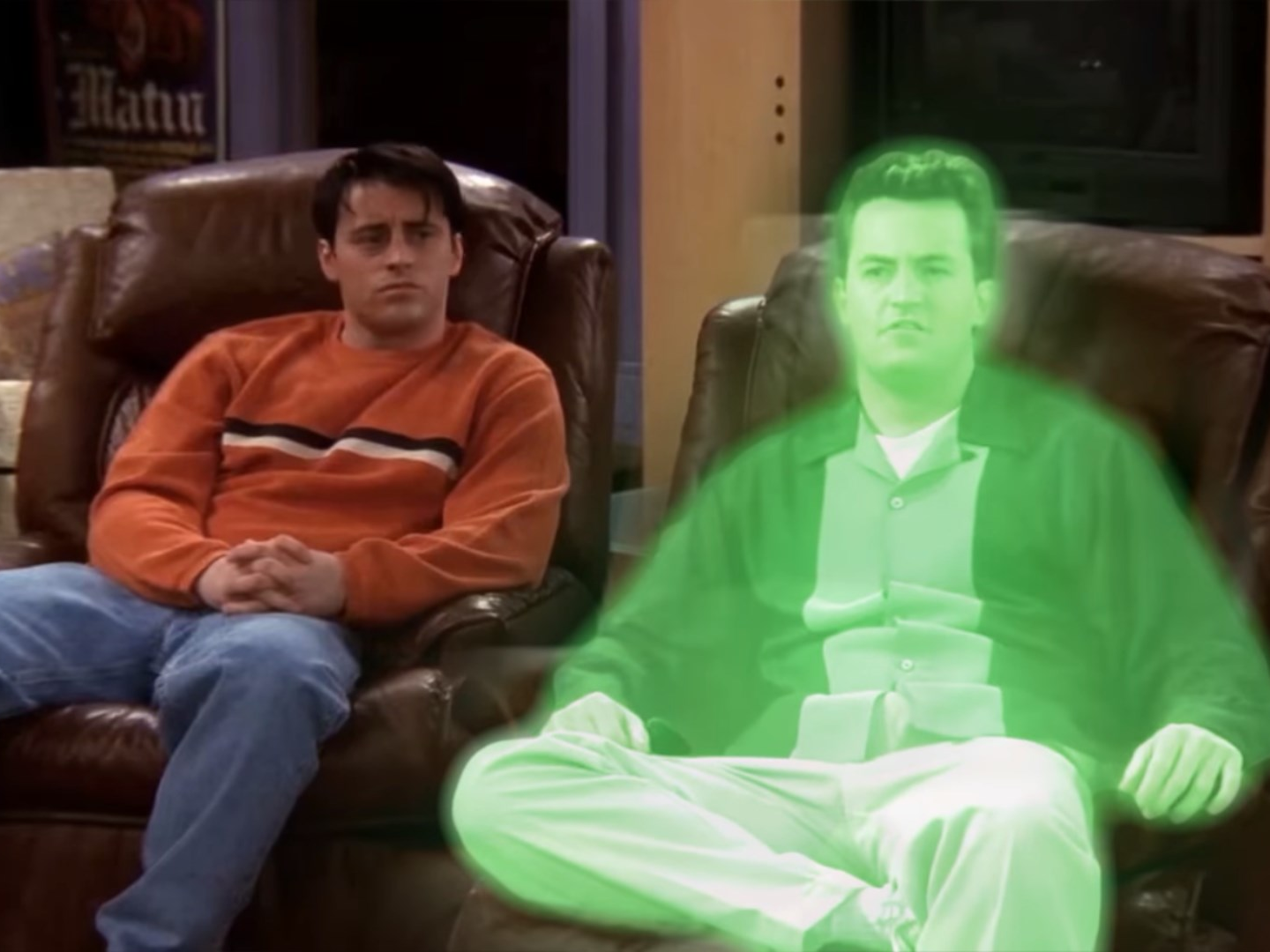 Chandler, Chandler Bing, F.R.I.E.N.D.S., the one where chandler dies, F.R.I.E.N.D.S. Reunion, Joey
