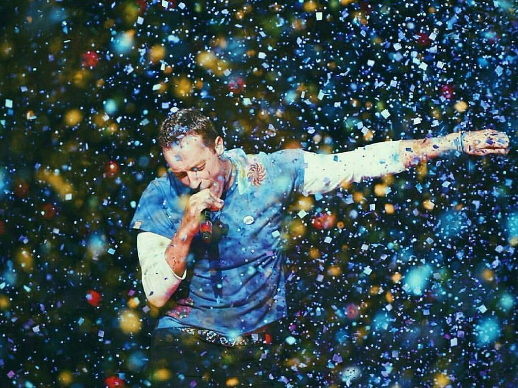 Chris Martin, Vande Mataram, A. R. Rahman, Global Citizen India Festival, Mumbai, Coldplay