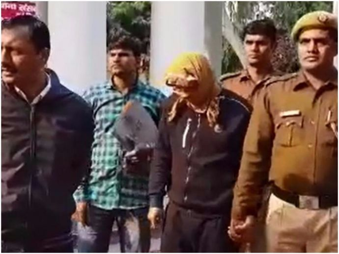 Delhi University, Law Student, faked ministry websire, job rackets