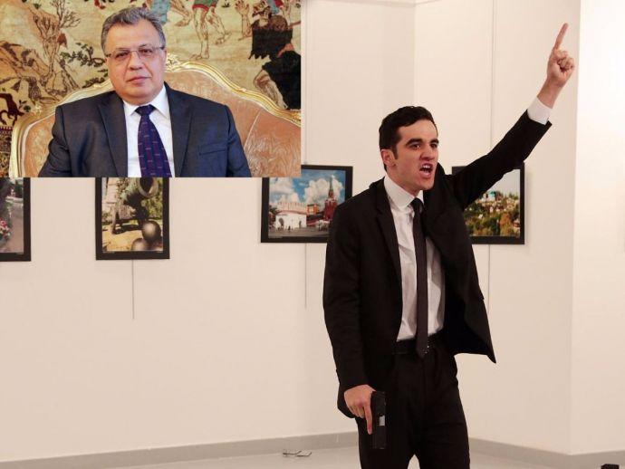 Aleppo, Russian Ambassador, Andrey Karlov, Ankara, Assasination