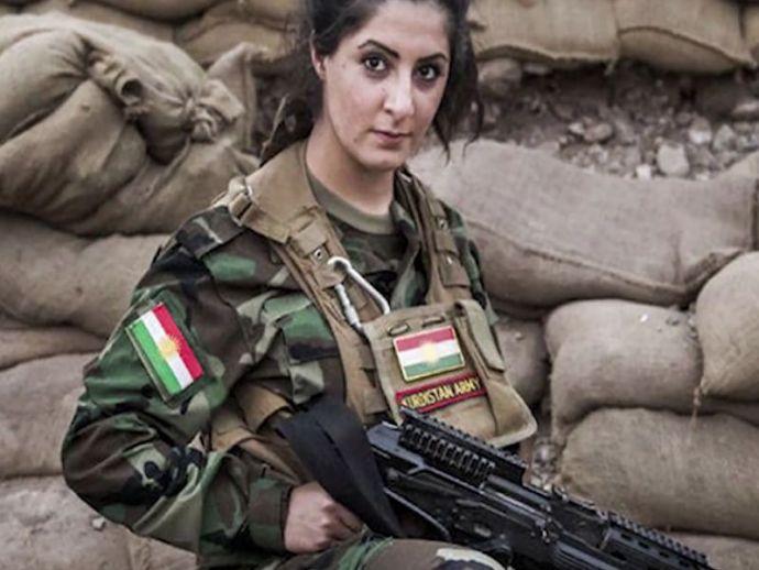 joanna, palani, denmark, kurd, peshmerga, isis, trail