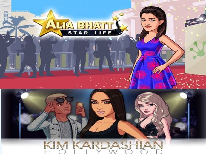 Kim Kardashian, Alia Bhatt, playstore, game, itunes, Twitter, fashion, bollywood, hollywood