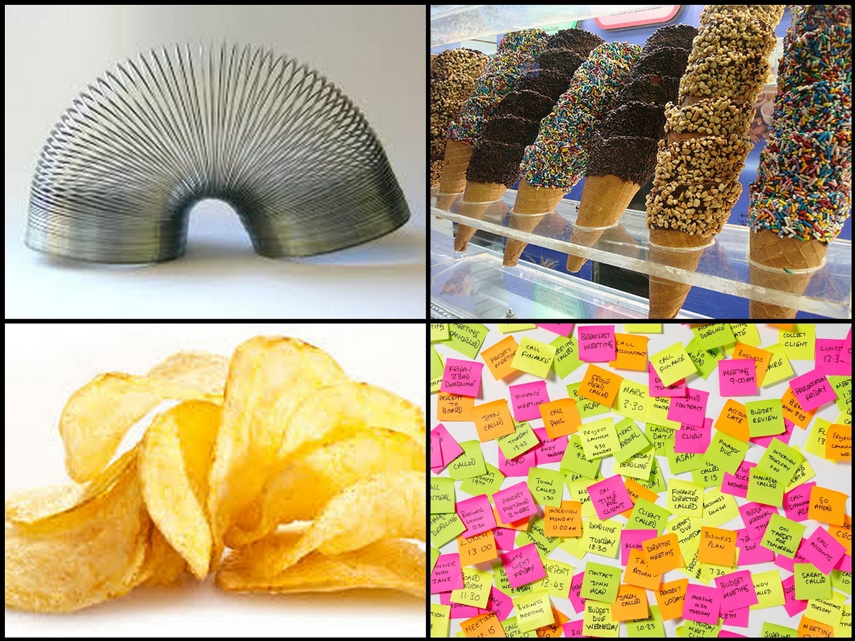 Best Accidental Inventions, Accidental Inventions, Inventions, Best Inventions, Strange Stories Of Accidental Inventions, Popsicles, Potato Chips, Ice Cream Cones, TEFLON, Stainless Steel, Anaesthesia, Cornflakes, Slinky, X-Rays, Post It Notes
