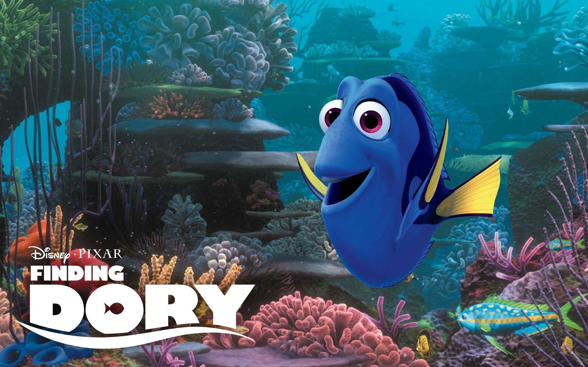 """Finding Dory, ""Finding Nemo, Disney's sequel Finding Dory, Shrek the Third, Toy Story 3, The Conjuring 2"