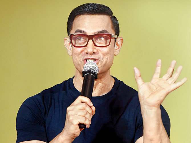 Aamir Khan, Dangal, Aamir Khan Is All Set To Rap, A Special Song In Dangal, Mr. Perfectionist
