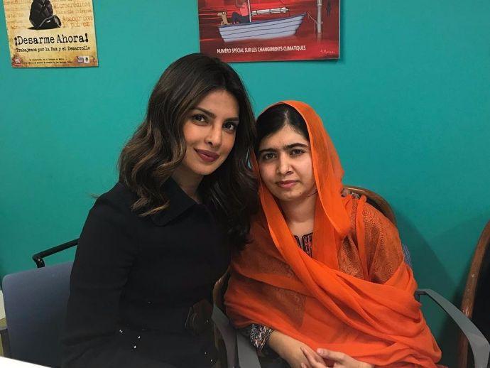 Priyanka Chopra, Malala Yousafzai, UNICEF, women empowerment, New York, India, Zimbabwe, South Africa, Jordan, education, girls