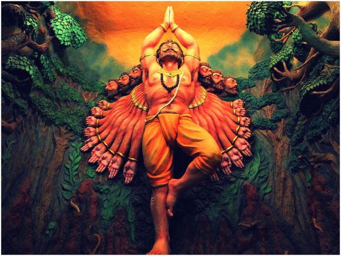 Nagpur, Mahagongo, Ravan Mahapuja, A tribe that worships Ravan