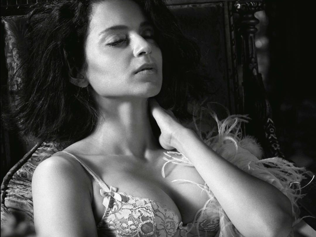 Kangana Ranaut, Photoshoot, GQ, Queen Kangana, Flawless Skin, Magazine