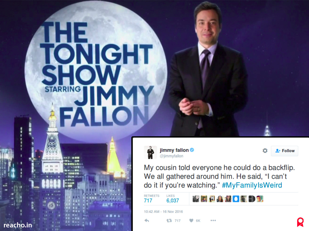 The Tonight Show With Jimmy Fallon, Hashtags, #MYFamilyIsWeird