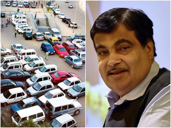 Delhi, Illegal parking, Nitin Gadkari, news, automated parking, Motor Vehicles Bill