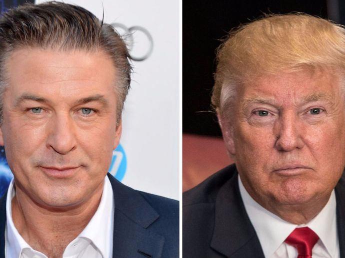 donald trump, alec baldwin, fake, tweet, arrest