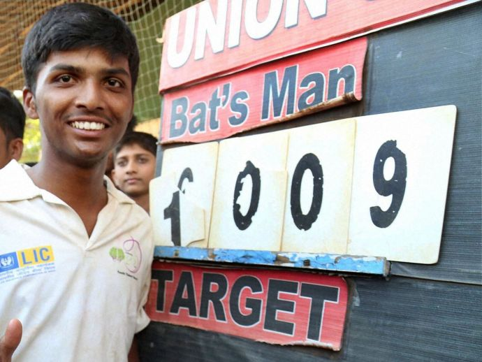 Cricket, sport, 1000, record, batsman, BJP, helipad, protest, politics, ground