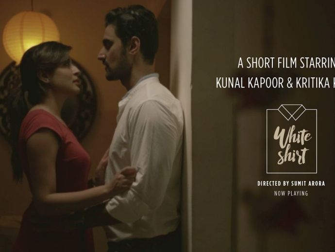 Sumit Arora, Kunal Kapoor, Kritika Kamra, Happily Ever After, Short Film, White Shirt, kritika kamra short film, The White Shirt