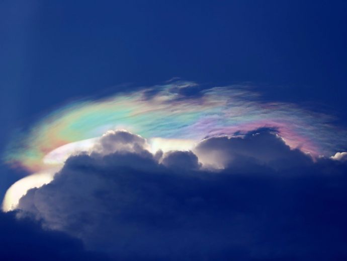 Fire Rainbow, Singapore, Sky, cloud iridescence, refraction of light, Singapore's rare rainbow, Fire Rainbow Over Singapore, Paddle Pop Rainbow, fire rainbow cloud, Rainbow Clouds, Rare rainbow cloud