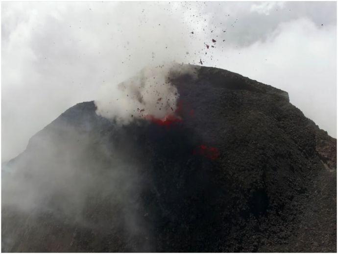Drones, Technology, science, Guatemala, Volcano, eruption, volcanic eruptions, UAV, Cambridge, Bristol