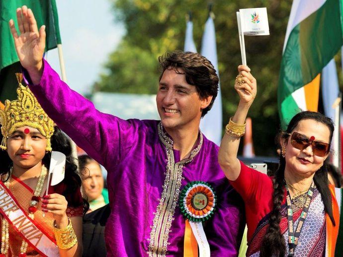 Canada, Prime Minister, Justin Trudeau, India, Independence Day, Kurta, Pyjama, Jai Hind