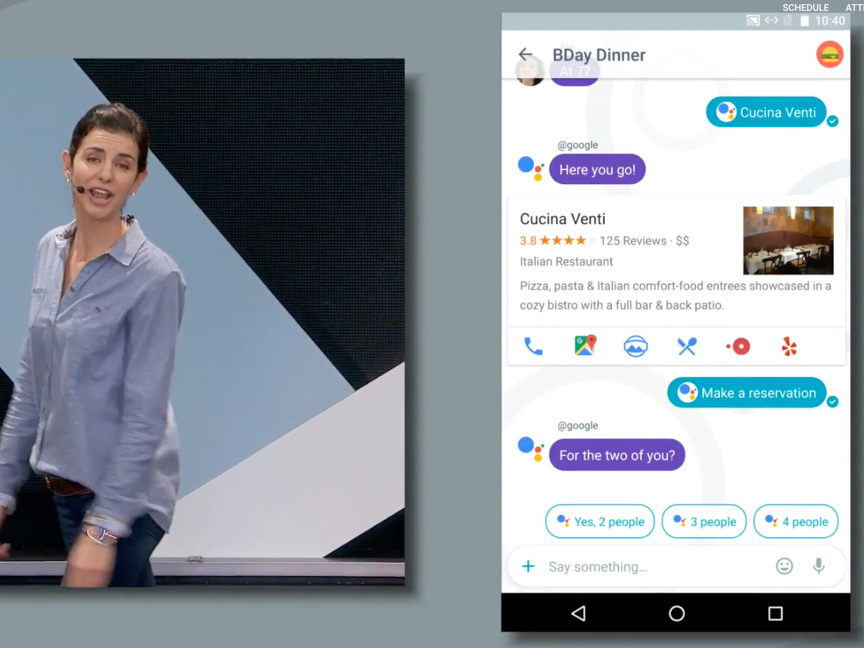 Google Allo, Assistant App, Allo, Duo, Google's I/O Event May