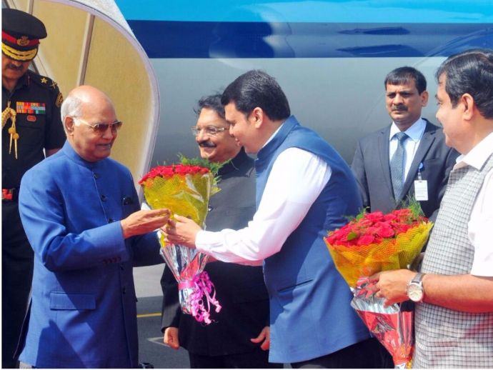 Ramnath Kovind, President's maiden visit to Nagpur, Deekshabhoomi, Suresh Bhat Auditorium