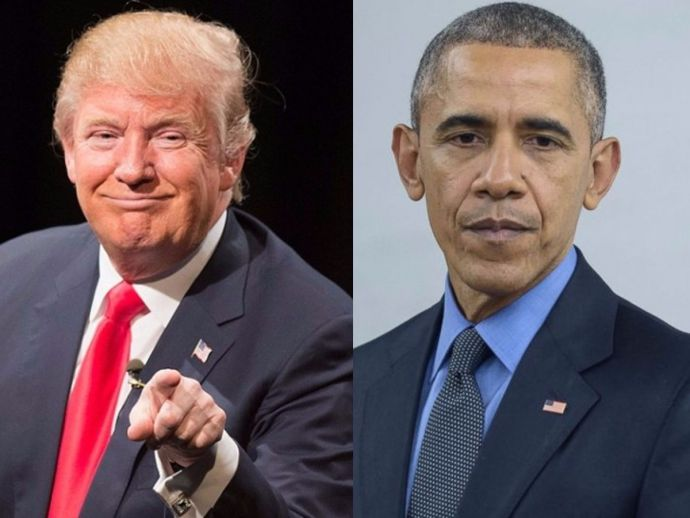 Donald Trump, Barack Obama, Revenge, President, Elections, Humiliation