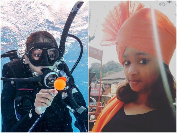 pune, khushi parmar, basic freediver, Scuba Schools International (SSI), scuba and free-diving certification bodies, Mario Fernandes of Calangute, Neil Francis, SSI's regional director, doctorate, World Records University (WRU), swimming, scuba diving, ae