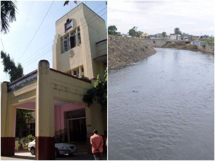 Nagpur, nagpur news, nagpur metro, Nagpur NMC, NMC, Nag River, Construction, Nitin Gadkari