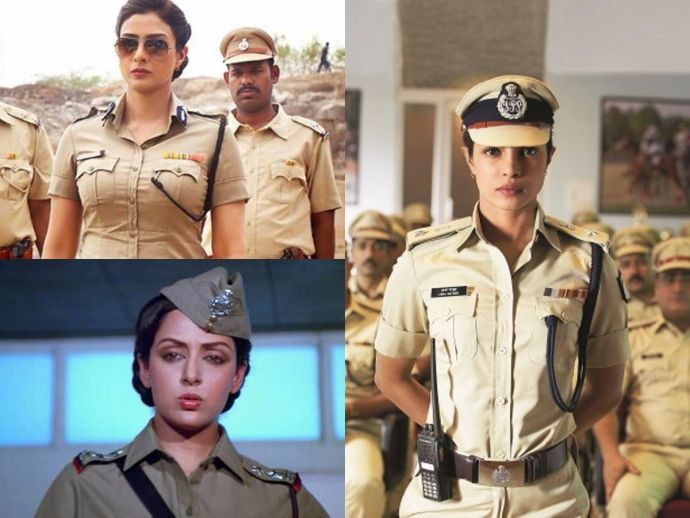 Bollywood Actress, Bollywood Actresses As Cops, Bollywood, Bollywood Heroines As Cops, Hema Malini, Dimple Kapadia, Rekha, Bipasha Basu, Archana Puran Singh, Esha Gupta, Huma Qureshi, Rani Mukerji, Tabu, Priyanka Chopra, Policewoman, Female Cop