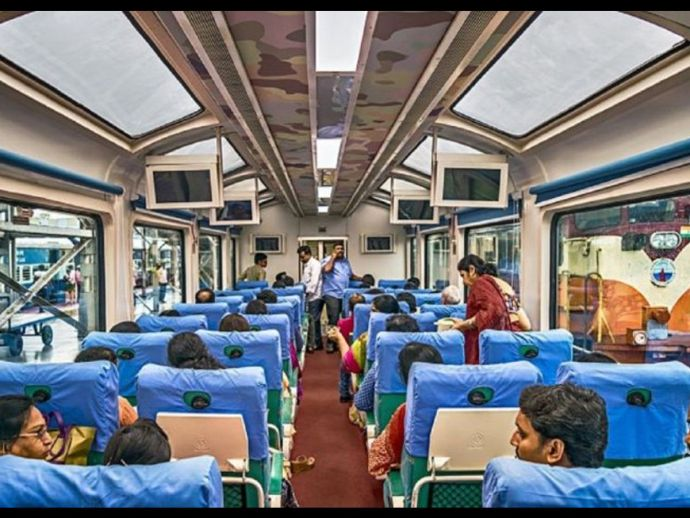 Make In India, Hi-End Train, Rajdhani Express, Shatabdi Express, Fast Train India, PM Modi, Train 18, Train 20