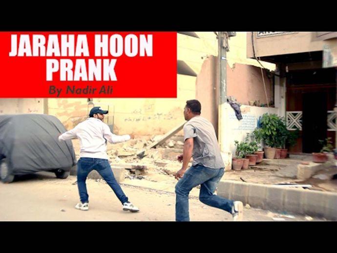 Pakistani, prank, funny, hilarious, Nadir Ali, Jaraha Hoon Prank