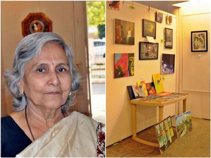 nagpur, nagpur news, 71-year-old artist, Raja Ravi Varma, folk, Raja Ravi Varma Art Galley, Prabha Bhaiyya, South Central Zone Cultural Centre, sczcc
