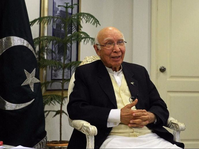 India, Pakistan, Sartaj Aziz, Heart Of Asia Conference