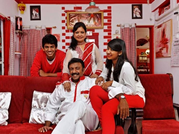 Sevenraj, 7 Raj Real Estate, Red And White Family, Lucky 7
