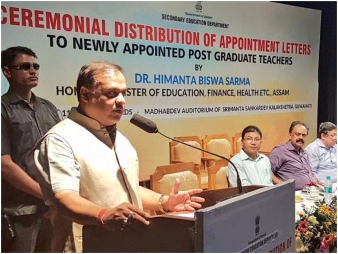 Assam, Health Minister, Cancer, Himanta Biswa Sarma, Cancer is divine justice, Karma
