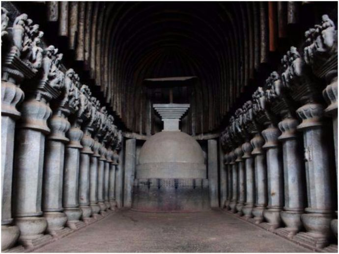 Throwback Thursday, Pune, Karla Caves, Lonavala, Buddhist caves, second century BC