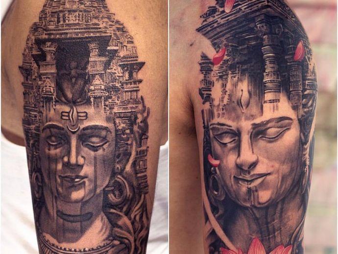 shiva, shankar, hindu, god, tattoo, art, religion, trishul, maha mrityunjaya, ink, mahashivaratri, Amazing Lord Shiva Tattoos, Tattoos of Lord Shiva, Maha Mrityunjaya Mantra tattoo, The Mahamrityunjaya Mantra, Tandava motif