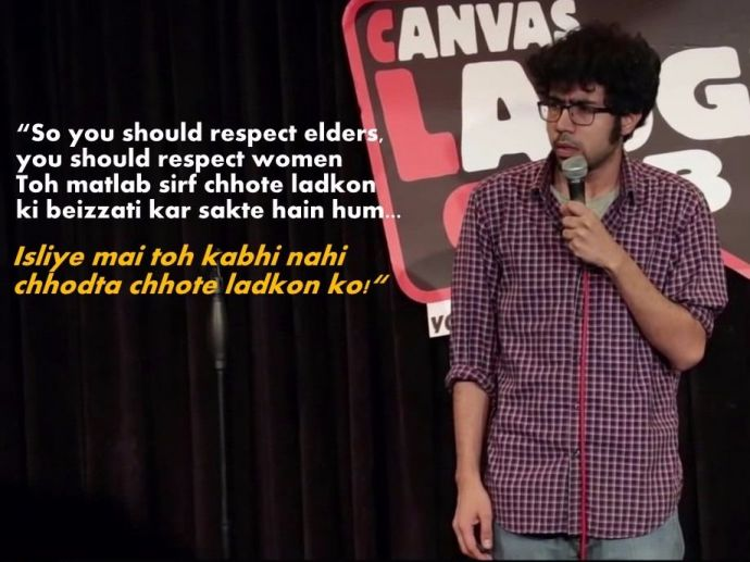 Abhishek Upmanyu, Youtube, funny videos, canvas laugh club, stand up