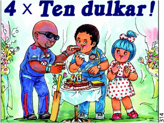 Sachin Tendulkar, birthday, 44th, Amul, Ad, cricket, sport