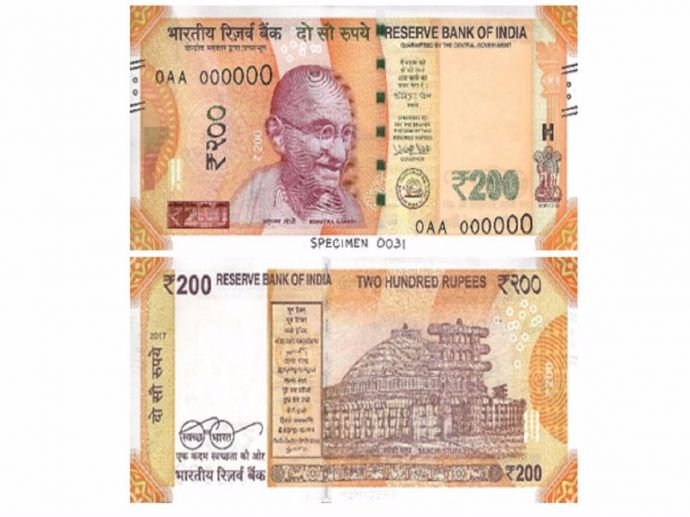 RBI, Rs. 200, notes, new, currency, denomination, circulation, india, rupees