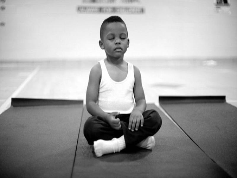 School, Children, Baltimore, USA, Meditation, Punishment