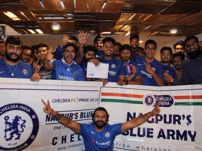 Chelsea India Supporters Club, Nagpur, Chelsea FC, Fan club, Nagpur football clubs