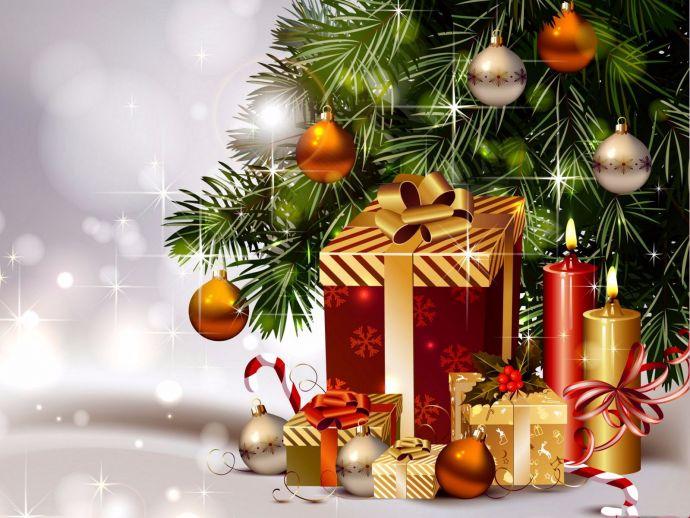 Christmas, Jesus Christ, Santa, Santa Claus, Christmas Tree