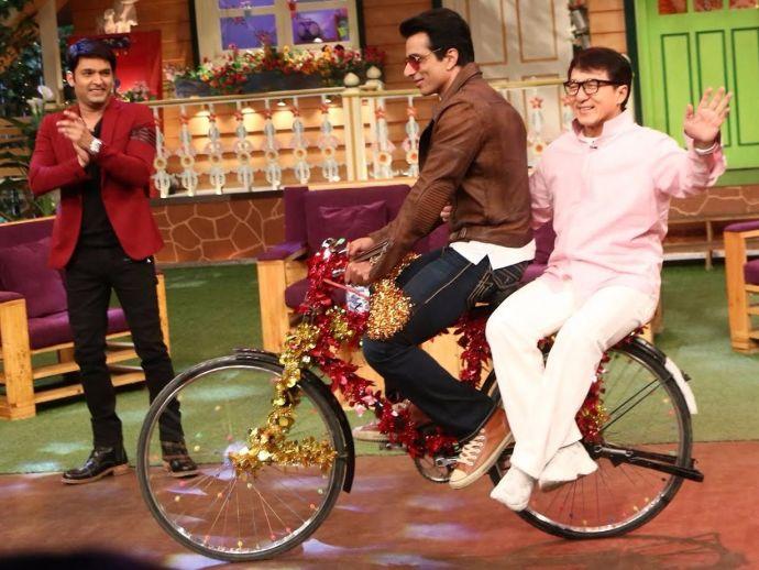 Jackie Chan, Sonu Sood, Kung Fu Yoga, Kapil Sharma, The Kapil Sharma Show