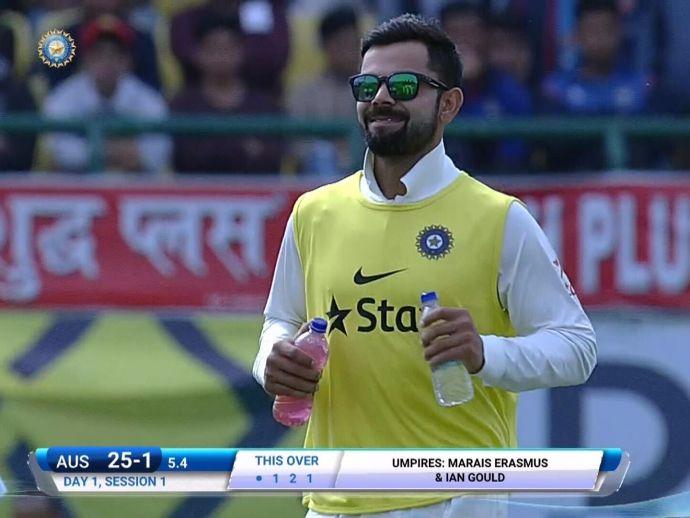 Virat Kohli, test match, India, Australia, Dharamsala, Dhoni, Ajinkya Rahane, Sachin Tendulkar, Ricky Ponting