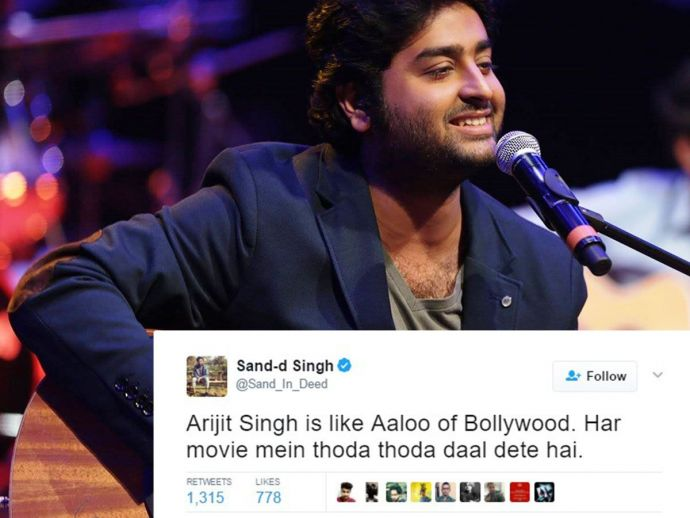Bollywood songs, Romantic songs, Arjit Singh's Birthday, 25th April, twitter, funny, arijit singh