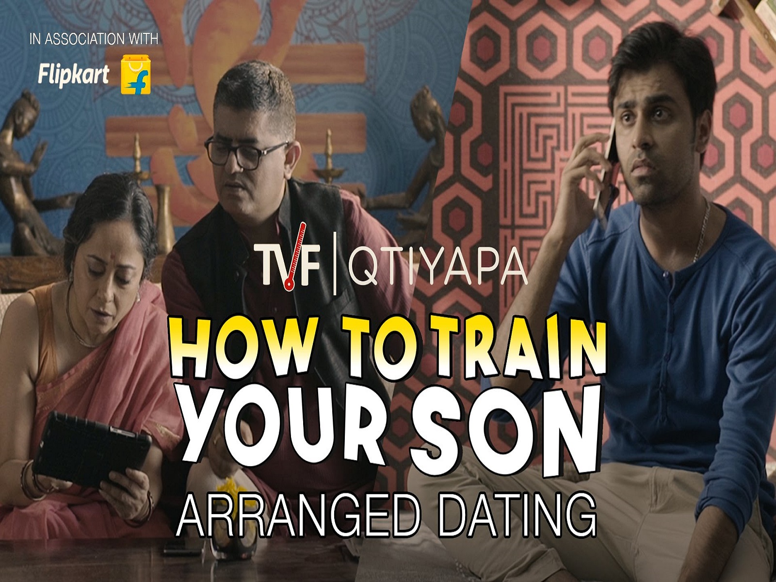 TVF's, Arranged Dating, TVF Dating, Arunabh Kumar, Naveen Kasturia, Gopal Dutt, TVF QTIYAPA, TVF dating lessions, TVF marriage lessions