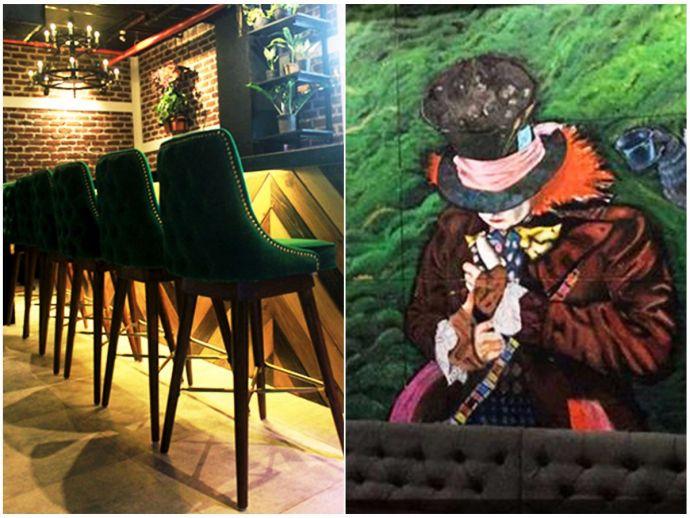Pune, Hotel, Bars, Mr. Rabbit's Bar & Burrow, Alice in Wonderland, Resto-Bar, Restaurants