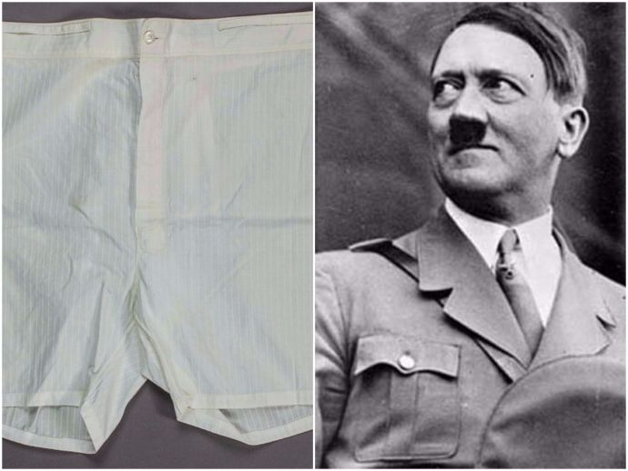 NAZIS, ADOLF, HITLER, AUSTRIAUSA, inner-were, boxers, Adolf Hitler, sold, US