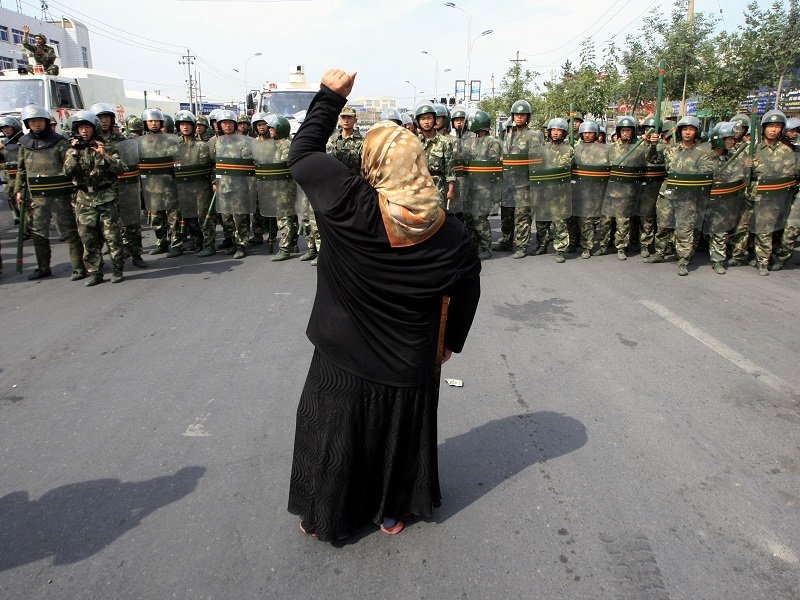Xinjiang, China, Muslim, Kashmir, Chinese Flag In Kashmir, Turkestan, Uighur, Uyghur, Aksai Chin