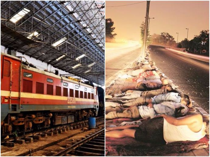 Indian Railways, Old coaches as shelter for the homeless, Hyderabad, sustainable development