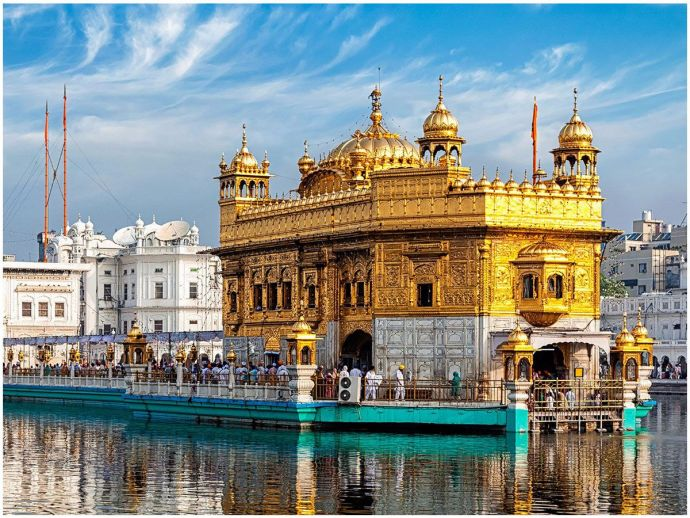 Golden Temple, 'Most Visited Place Of The World, Amritsar, Shrine, World Book of Records, WBR