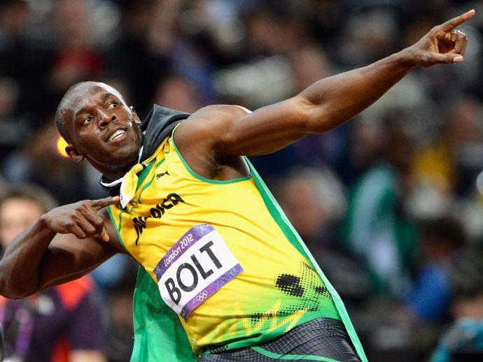 Usain Bolt, Nesta Carter, Olympics, Sprint, 4 x 100 Relay, Relay Race
